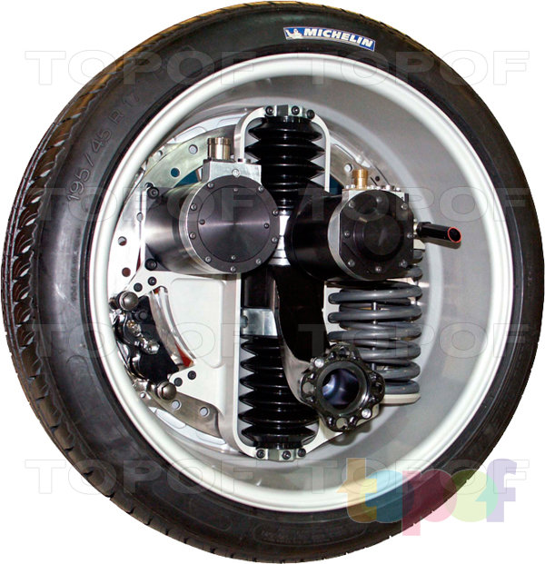 Шины Michelin Active Wheel. Изображение модели #1
