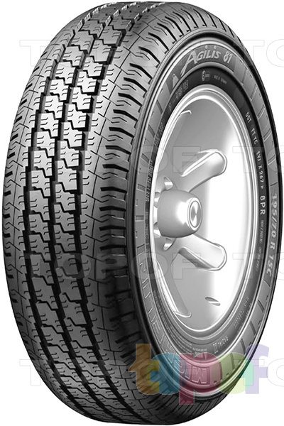 Шины Michelin Agilis 81. Дорожная шина для минивэна