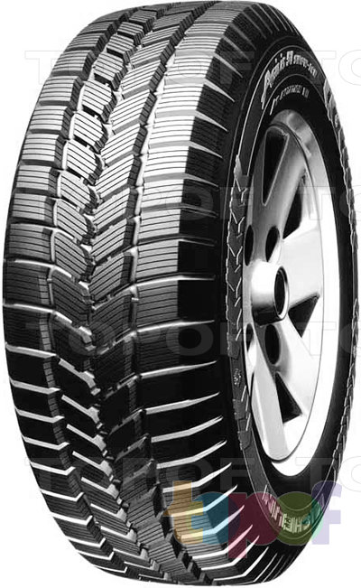 Шины Michelin Agilis Snow Ice 51. Изображение модели #1