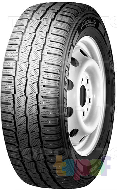 Шины Michelin Agilis X-ICE North. Шипованная шина для минивэна