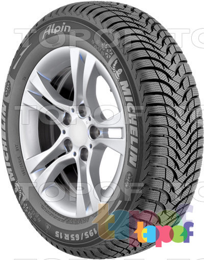 Шины Michelin Alpin A4. Боковая стенка