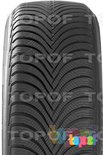 Шины Michelin Alpin A5. Направленный рисунок протектора зимней шины