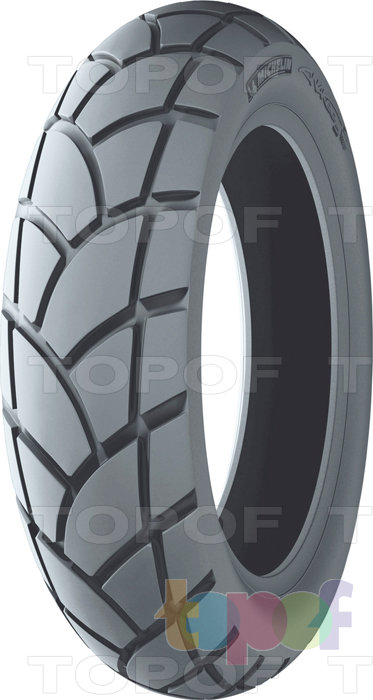 Шины Michelin Anakee 2. Задние шины
