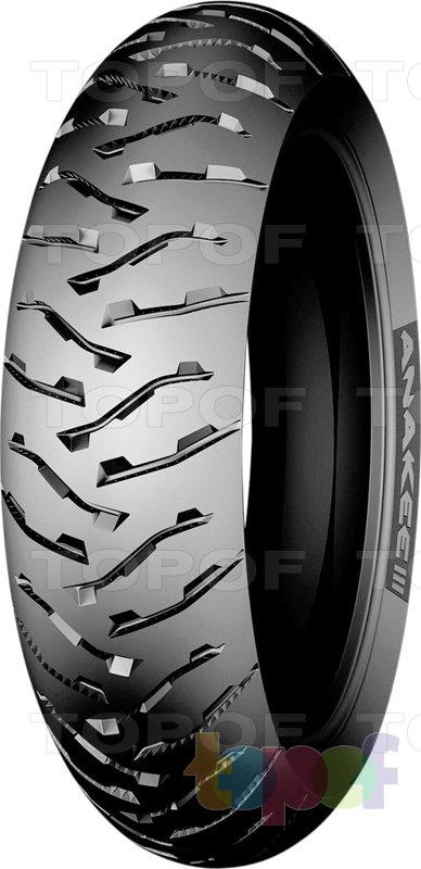 Шины Michelin Anakee 3. Заднее колесо