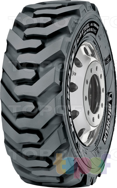 Шины Michelin BibSteel All Terrain. Изображение модели #1