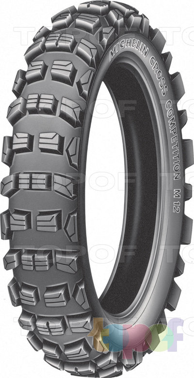 Шины Michelin Cross Competition M12XC. Заднее
