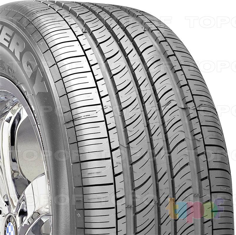 Шины Michelin Energy MXV4 plus. Плечевая зона шины