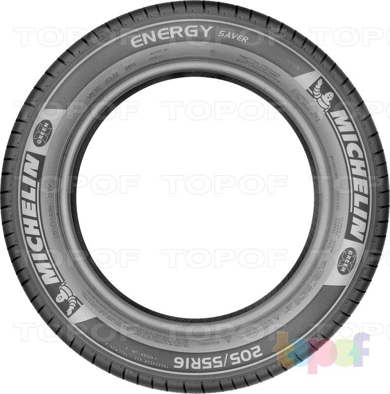 Шины Michelin Energy Saver +. Боковая стенка