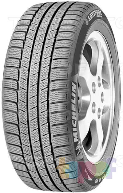 Шины Michelin Latitude Alpin HP 235/65R17 108H
