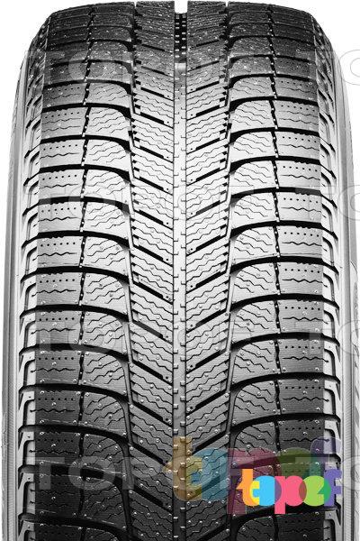 Шины Michelin Latitude X-Ice 3. Направленный рисунок протектора