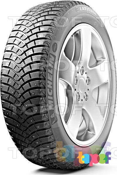 Шины Michelin Latitude X-Ice North 2+. Изображение модели #1