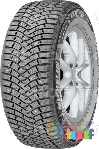 Шины Michelin Latitude X-Ice North 2 235/65R17 XL 108T