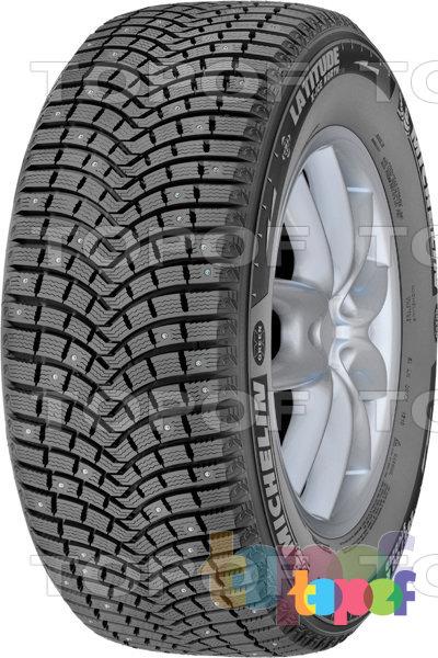 Шины Michelin Latitude X-Ice North 2. Рисунок протектора