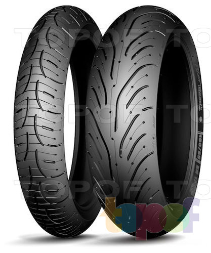 Шины Michelin Pilot Road 4. Задняя