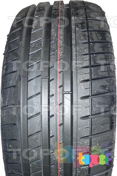 Шины Michelin Pilot Sport 3. Фронтальный вид