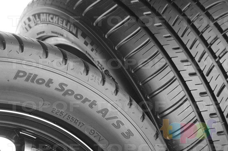 Шины Michelin Pilot Sport A/S 3. Плечевая зона шины