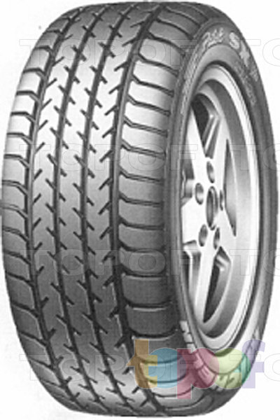 Шины Michelin Pilot SX GT. Общий вид модели