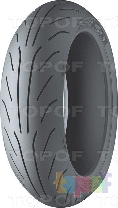 Шины Michelin Power Pure. Заднее колесо