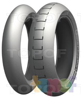 Шины Michelin Power SuperMoto. Изображение модели #1