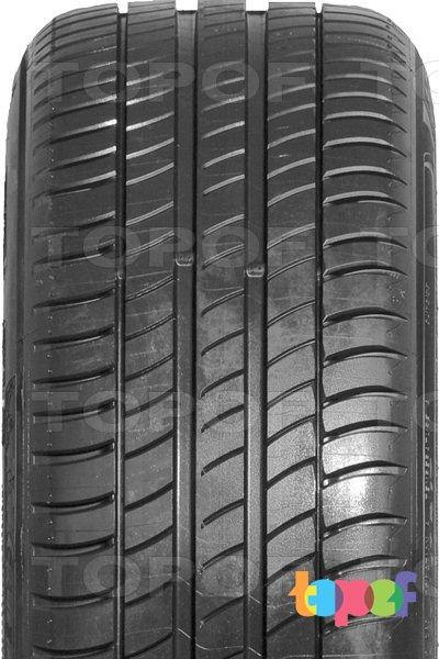 Шины Michelin Primacy 3. Продольные канавки на протекторе