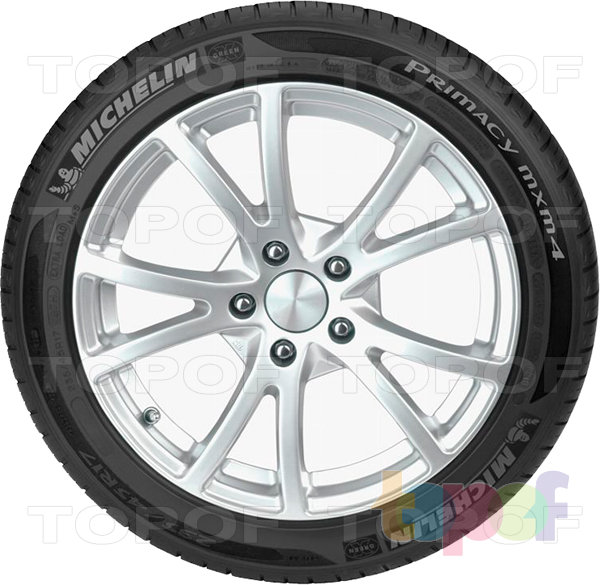 Шины Michelin Primacy MXM4. Боковина