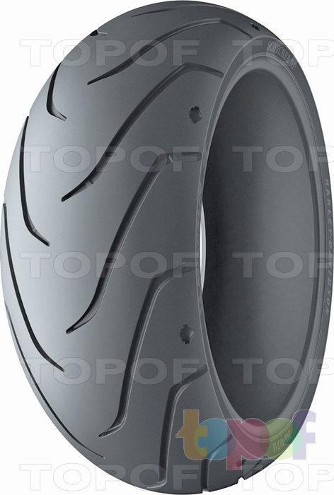 Шины Michelin Scorcher 11. Заднее колесо