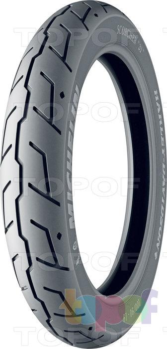 Шины Michelin Scorcher 31. Переднее колесо