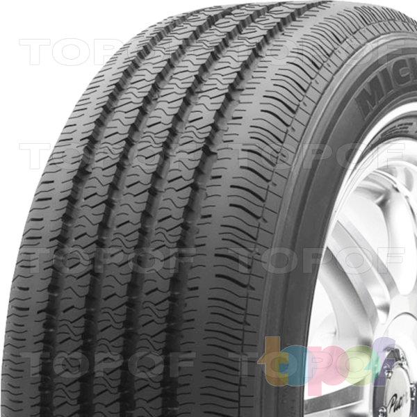 Шины Michelin Symmetry. Плечевая часть шины