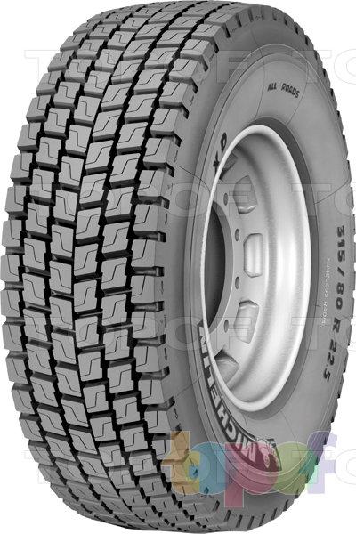 Шины Michelin X All Roads. XD - шина для ведущей оси