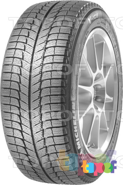 Шины Michelin X-Ice 3. Изображение модели #1