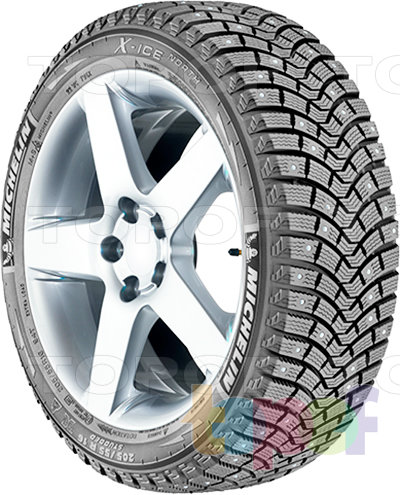 Шины Michelin X-Ice North 2 175/65R14 XL 86T