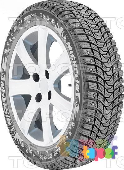 Шины Michelin X-Ice North 3. Общий вид модели