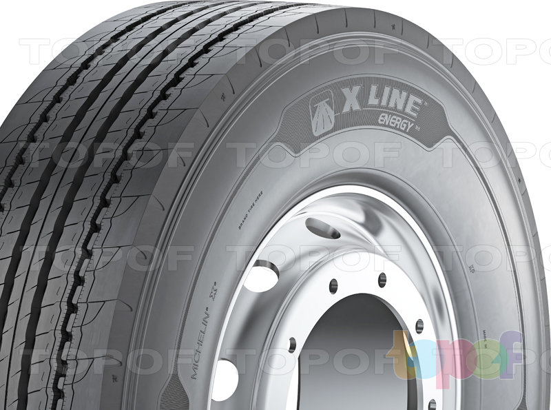 Шины Michelin X Line Energy F. Изображение модели #3