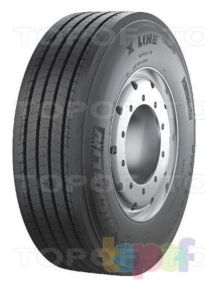 Шины Michelin X Line Tropic F. Изображение модели #1