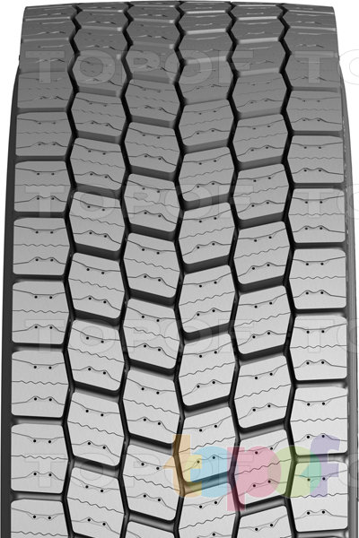 Шины Michelin X MultiWay 3D XD. Фронтальный вид