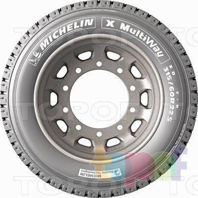 Шины Michelin X MultiWay XD. Изображение модели #1