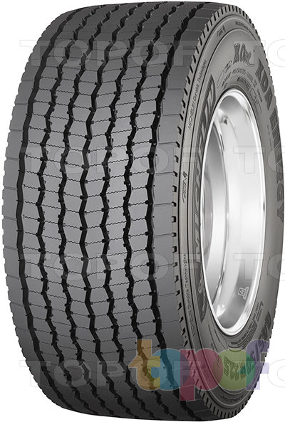 Шины Michelin X One XDA Energy. Грузовая шина для ведущей оси