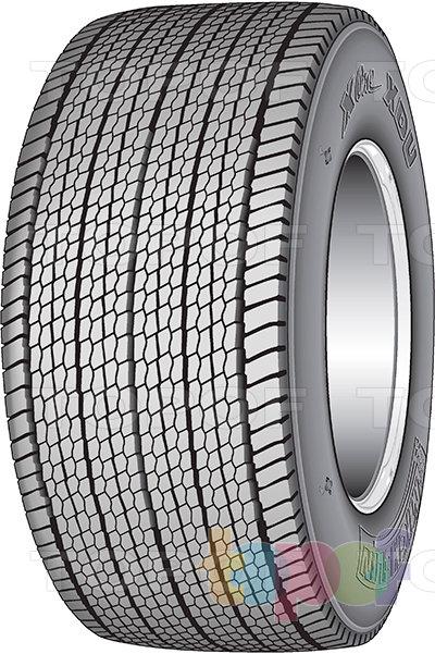 Шины Michelin X One XDU. Грузовая шина для ведущей оси