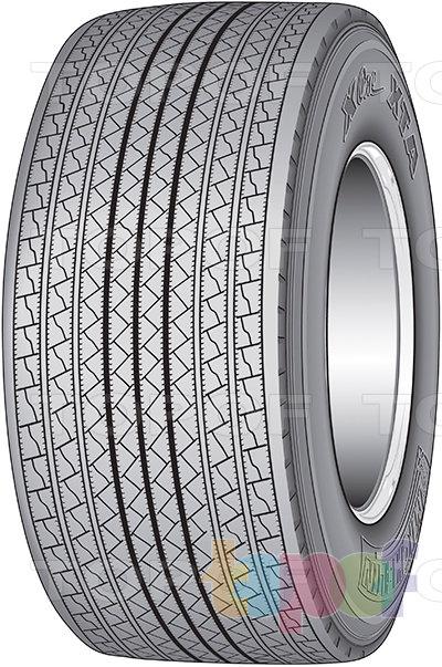 Шины Michelin X One XTA. Грузовая шина для оси прицепа