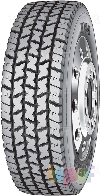 Шины Michelin XD4. Универсальная шина  для ведущей оси