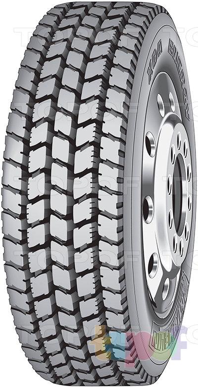 Шины Michelin XDA Energy. Грузовая шина для ведущей оси