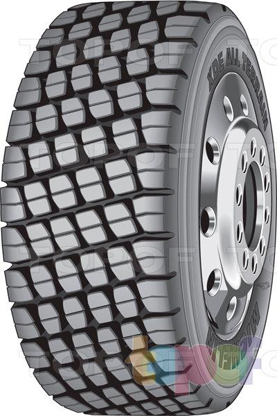 Шины Michelin XDE All Terrain. Грузовая шина для ведущей оси