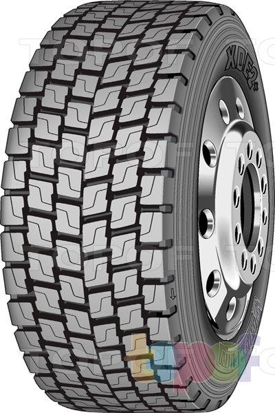 Шины Michelin XDE2+. Грузовая шина для ведущей оси