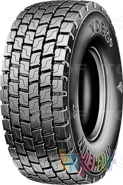 Шины Michelin XDE2+. Изображение модели #1