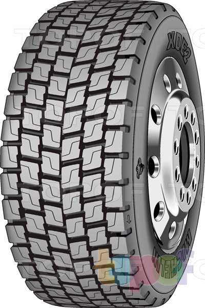 Шины Michelin XDE2