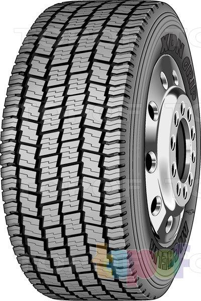 Шины Michelin XDN Grip. Грузовая шина для ведущей оси