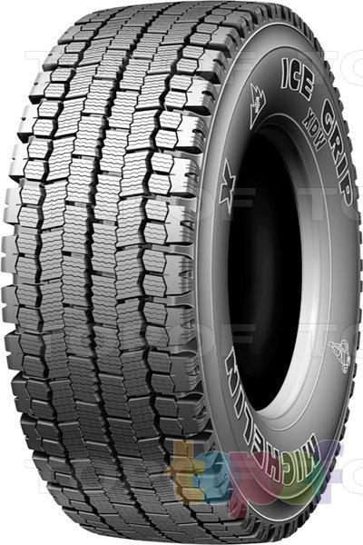 Шины Michelin XDW Ice Grip. Зимняя шина для ведущей оси грузового автомобиля