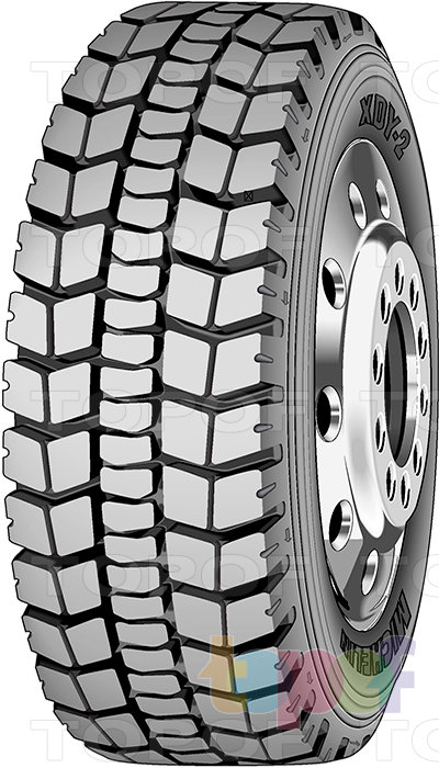 Шины Michelin XDY2. Грузовая шина для ведущей оси