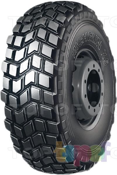 Шины Michelin XS. Грузовая шина повышенной проходимости.