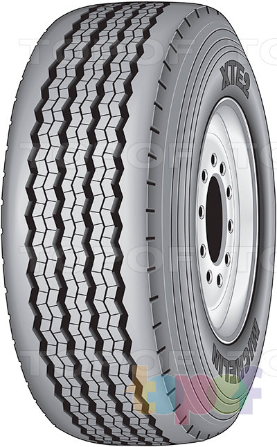 Шины Michelin XTE2 WB. Изображение модели #1